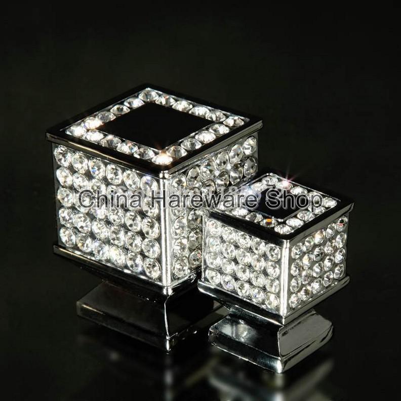 Glass Drawer Knobs Crystal Dresser Knob Pulls Handles Kitchen Cabinet Knobs  Modern Handle Pull Bling Hardware